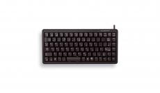 Cherry Compact Keyboard G84-4100LCMDE-2, schwarz, USB