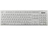 Keysonic KSK-8030 IN, waterproof keyboard, USB, white